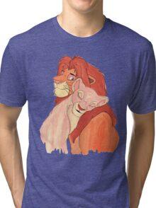 Lion Love Tri-blend T-Shirt