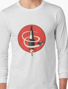 Post WWII Hot Rod Roadster Spark Plug Bomb Group Long Sleeve T-Shirt