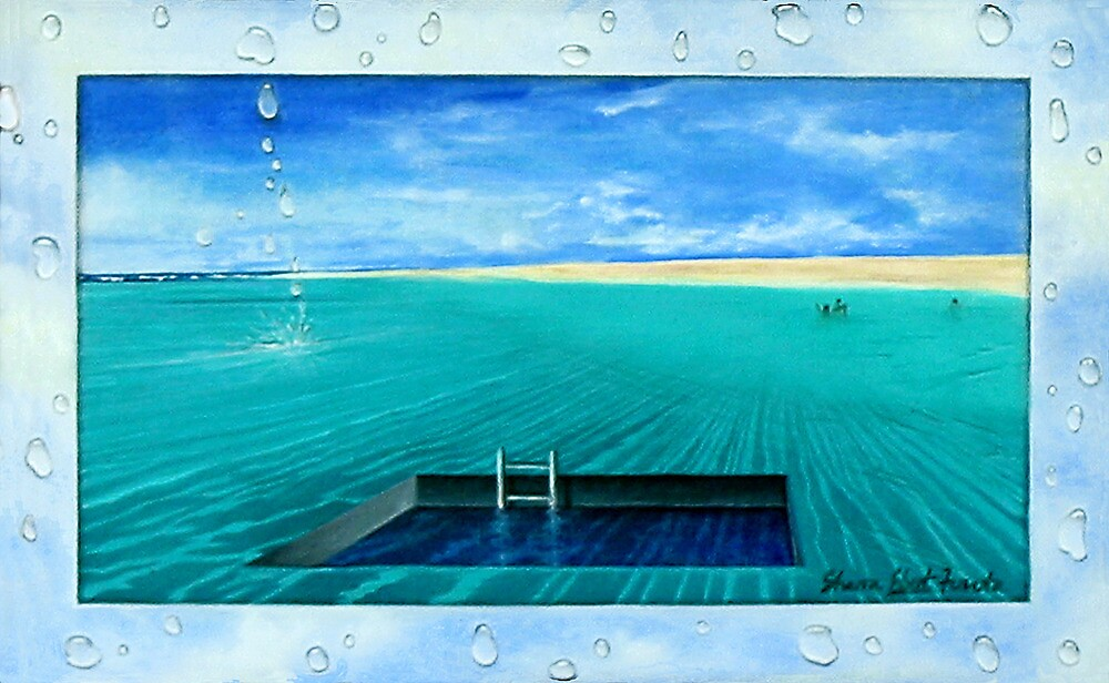 Swimming Pool by Sharon Ebert