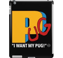 PUG TV iPad Case/Skin