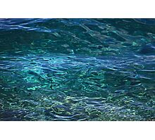 Mediterranean blue Photographic Print