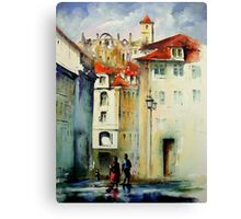 lisbon old city.. Canvas Print