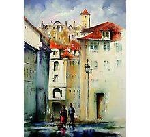 lisbon old city.. Photographic Print