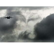 Cloud Vortex Photographic Print