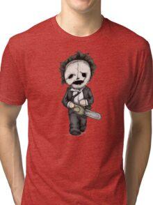 Pleatherface 2.0 Tri-blend T-Shirt