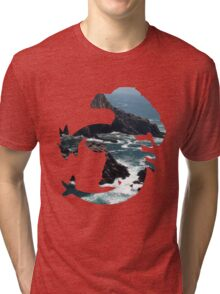 Lugia used surf Tri-blend T-Shirt