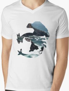 Lugia used surf Mens V-Neck T-Shirt