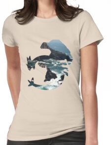 Lugia used surf Womens Fitted T-Shirt