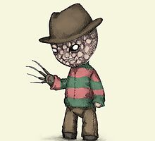 Plushie On Elm Street by LVBART