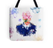 BTS over flowers [Suga]  Tote Bag