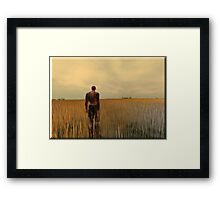 The Far Away Framed Print