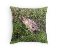 game bird Throw Pillow