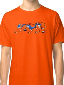 Blue Cubist Voltron Lion Classic T-Shirt