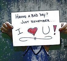 Having a bad day? by DDLeach