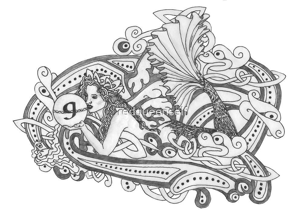 Gaia's Celtic Wave by redqueenself