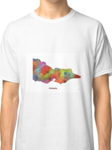 Victoria State Map Classic T-Shirt