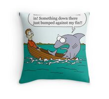 shark sissy Throw Pillow