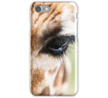 Eye of Giraffe iPhone Case/Skin
