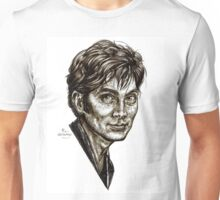 David Tennant - Doctor Who - Allons-y (Drawing) Unisex T-Shirt