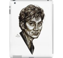 David Tennant - Doctor Who - Allons-y (Drawing) iPad Case/Skin