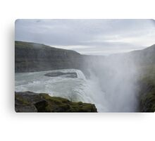 Goðafoss Waterfall, Iceland Canvas Print
