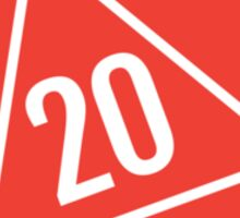 Polyhedra Die Sticker