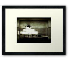 Manitowoc Breakwater Lighthouse ©  Framed Print