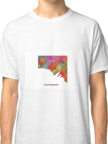 South Australia State Map Classic T-Shirt