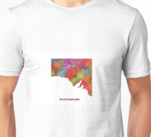 South Australia State Map Unisex T-Shirt