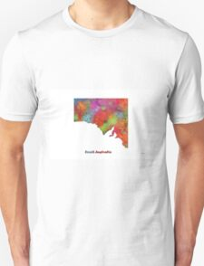 South Australia State Map T-Shirt