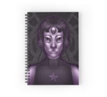 Black Pearl Spiral Notebook