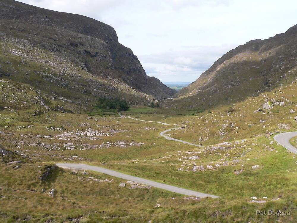 "Looking back to ""Gap of Dunloe""from Hill,over"" Black Valley"" by Pat Duggan"