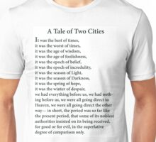 A Tale of Two Cities Unisex T-Shirt