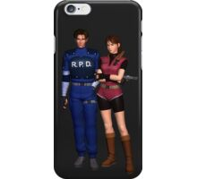 Resident Evil 2 - Leon & Claire iPhone Case/Skin
