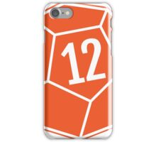 Decahedron Die iPhone Case/Skin