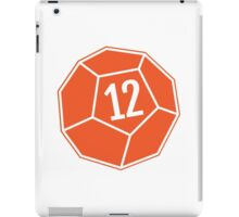 Decahedron Die iPad Case/Skin