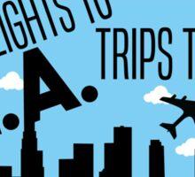 Flights #1 Sticker