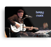 Harry Manx @ Jazz & Blues Festival 2010 Metal Print