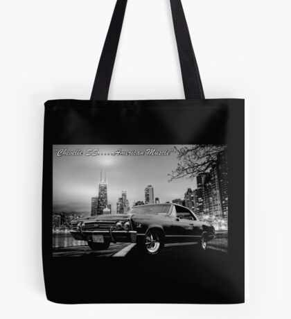 Chevelle SS...American Muscle Tote Bag