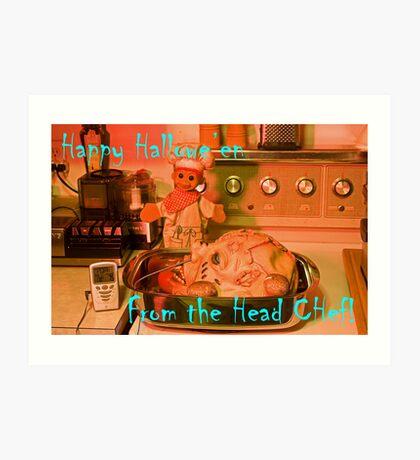 The Head Chef Art Print
