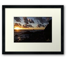1st Stop In Cape Breton Highlands Framed Print