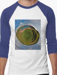 Silver Strand Beach, Malin Beg, South Donegal Men's Baseball ¾ T-Shirt