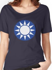 Flying Tigers (Chinese Air Force) Insignia Women's Relaxed Fit T-Shirt