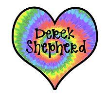 Tiedye Derek Shepherd Heart - Grey's Anatomy by alexavec