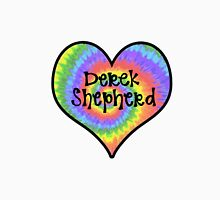 Tiedye Derek Shepherd Heart - Grey's Anatomy Unisex T-Shirt