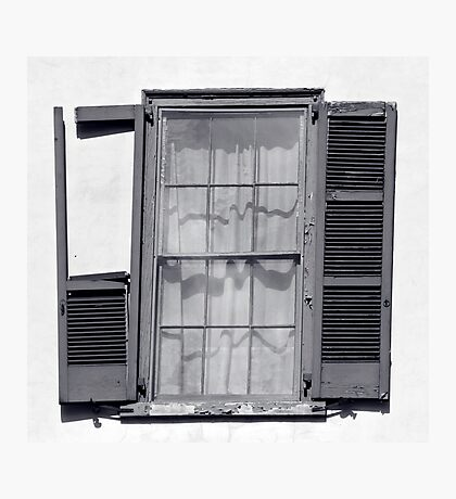 Shuddersome Shutters Photographic Print
