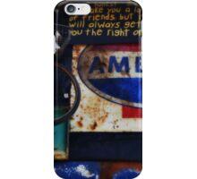 Junkyard Signs iPhone Case/Skin