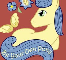 Be Your Own Pony (Gentlemen) by Painted Octoflame Studios