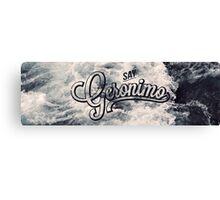 Geronimo Canvas Print