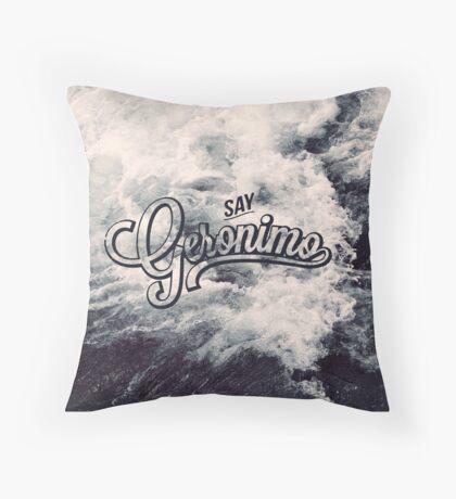 Geronimo Throw Pillow